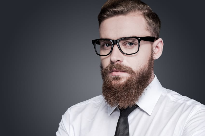 how to make facial hair soft