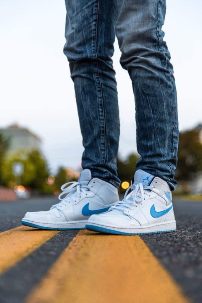 How To Wear High Top Sneakers With Jeans For Guys