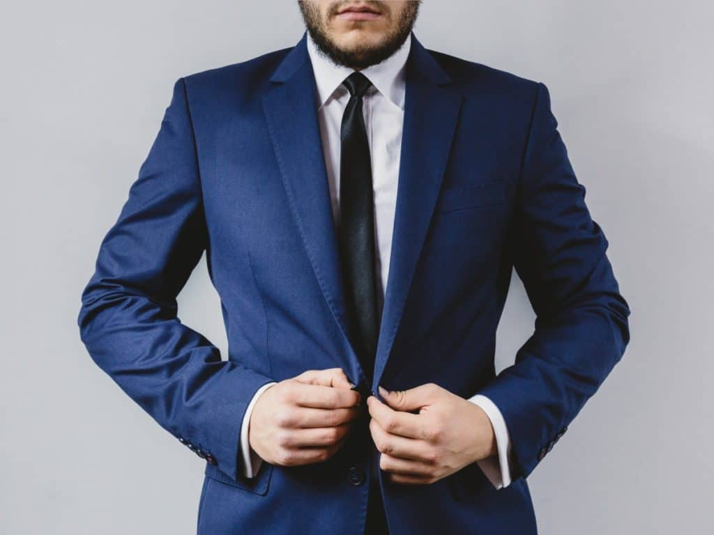 what color pants to wear with dark grey blazer