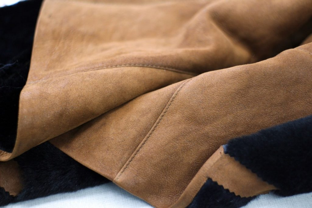 how to soften suede jacket