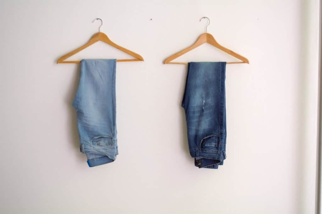 How much do jeans shrink in dryer