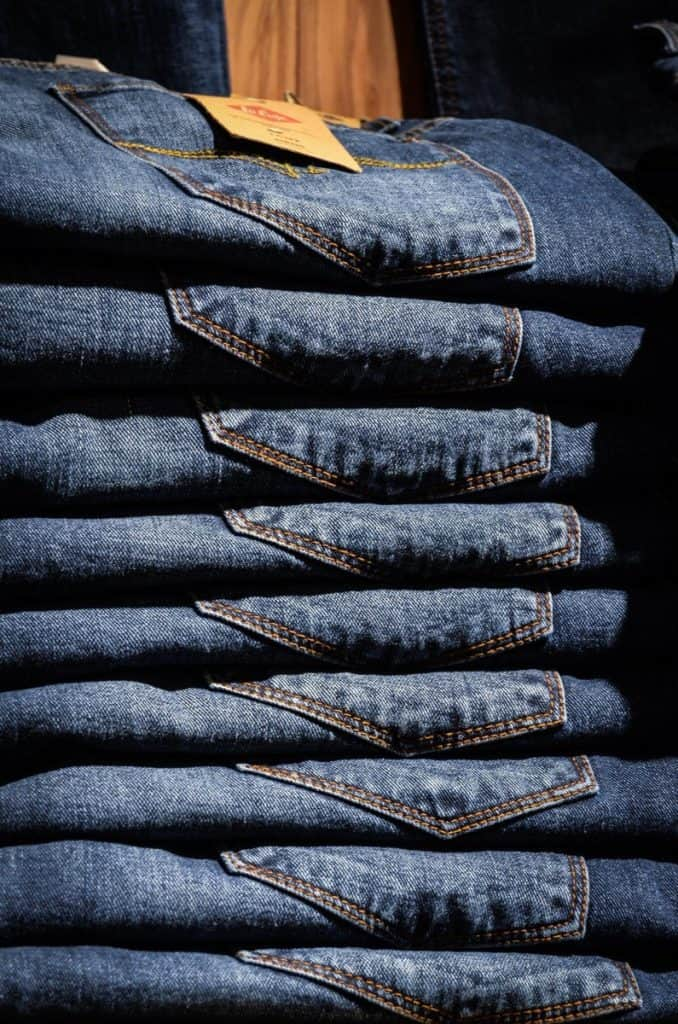 do jeans shrink in the dryer